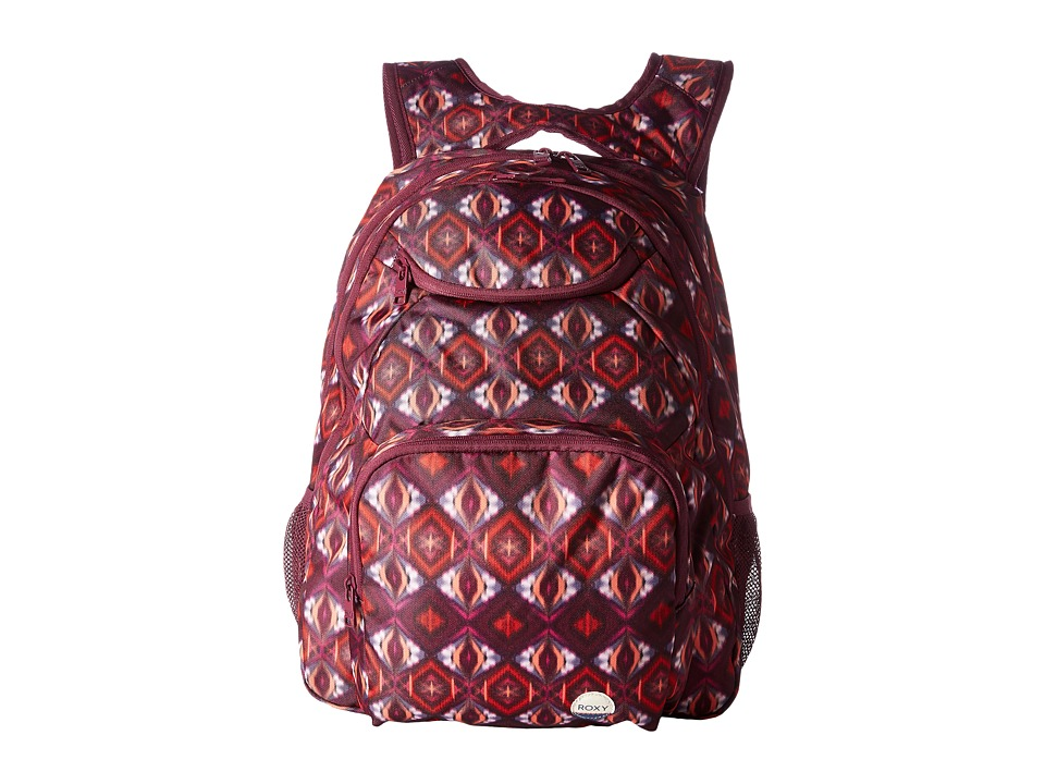 Roxy Shadow Swell Backpack (Grapewine Gerona Nights) Backpack Bags