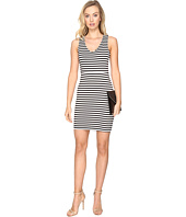 Jack by BB Dakota - Geno Striped Ponte Bodycon Dress