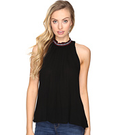 Jack by BB Dakota - Nettle Ribon Trim Gathered Tank Top