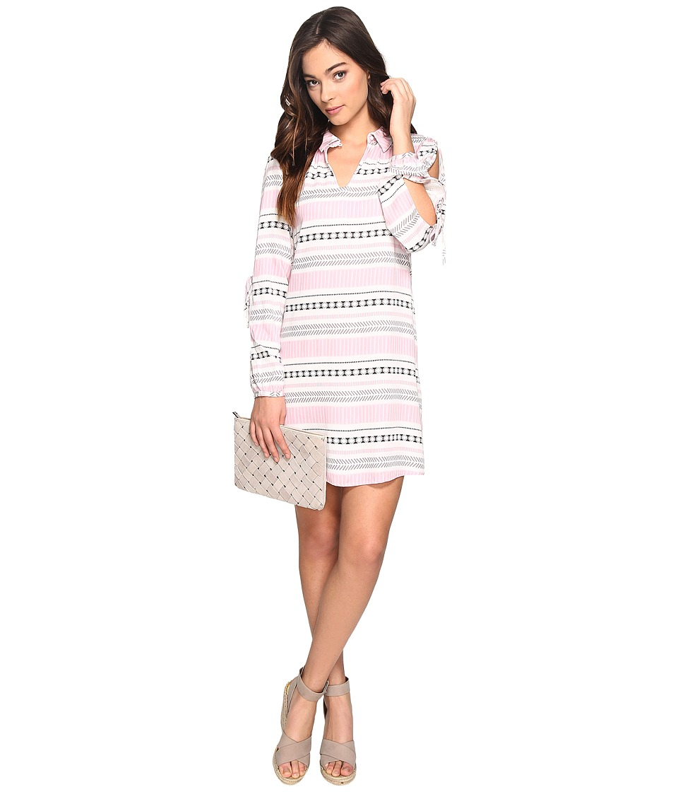 Jack by BB Dakota - Kerin Printed Slit Sleeve Dress