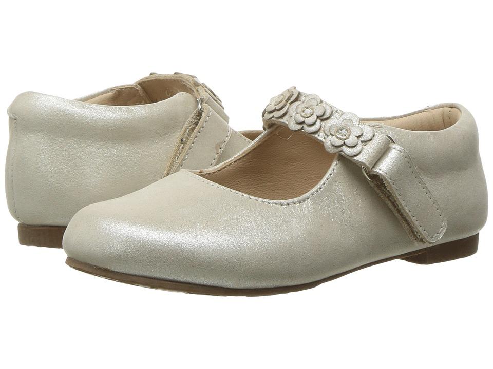 Elephantito Flower Mary Jane (Toddler/Little Kid) (Talc) Girls Shoes