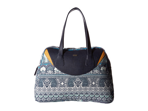 Roxy Havana Spirit Handbag - Dress Blue Ax Hippie Hop Border