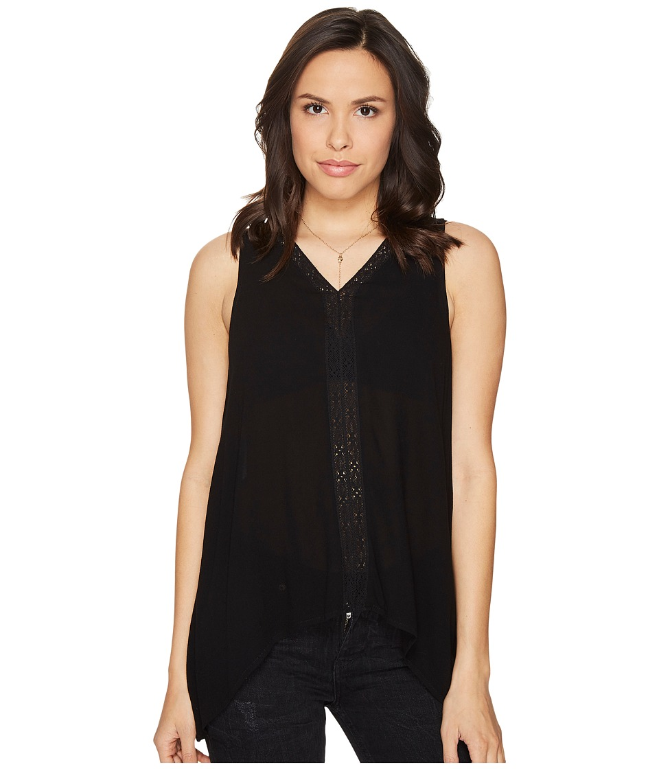 Jack by BB Dakota - Selenium Rayon Crepe Ribbon Trim Tank Top