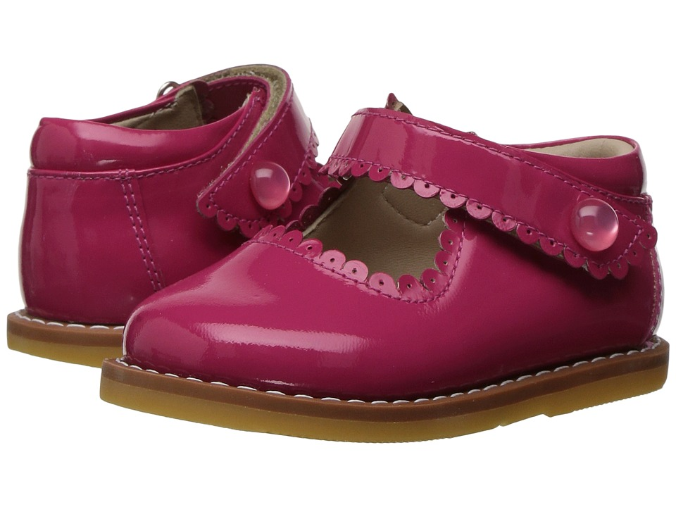 Elephantito Mary Jane (Toddler) (Hot Pink) Girls Shoes