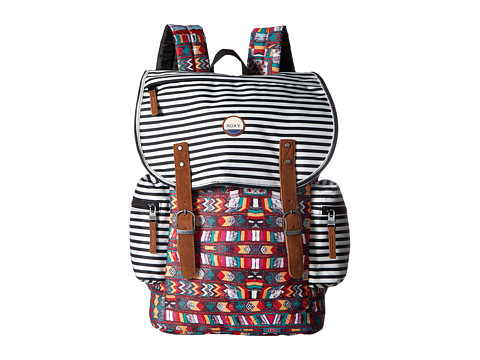Roxy Free For Sun Backpack - Salsa Super Duper Legit
