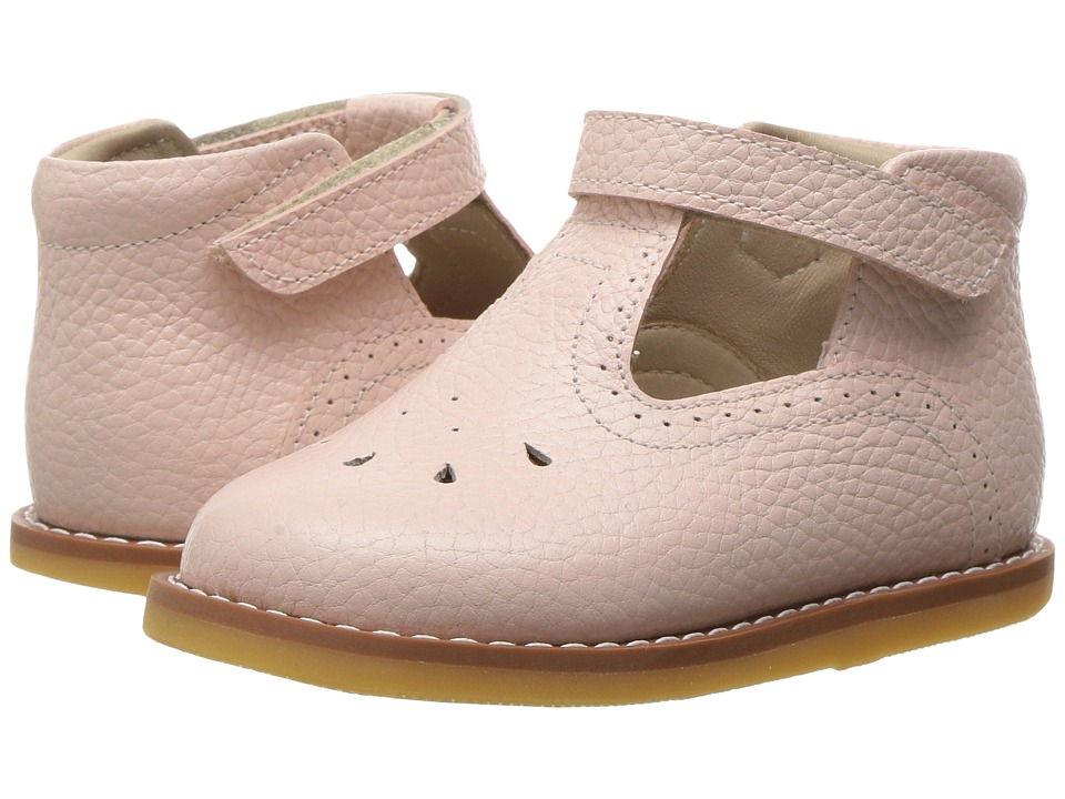 Elephantito - T Bar (Toddler) (Textured Pink) Girls Shoes