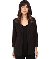 kensie - Stretch Crepe Longer Blazer KS8K2S44