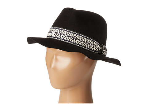 Roxy Plumetis Hat - Anthracite