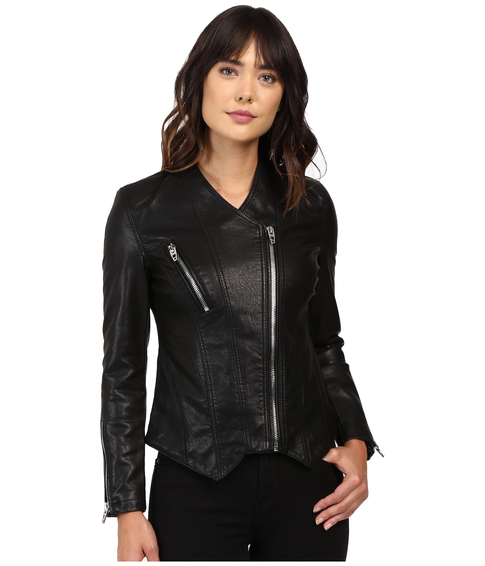 Power trip leather jacket