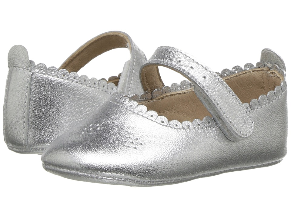 Elephantito Ella Ballet (Infant/Toddler) (Silver) Girls Shoes