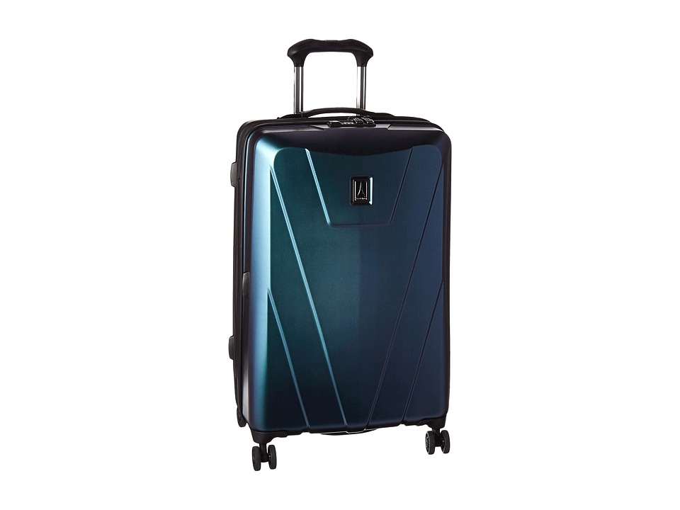 Travelpro Maxlite 4 Hardside 25 Expandable Spinner (Black/Green) Luggage