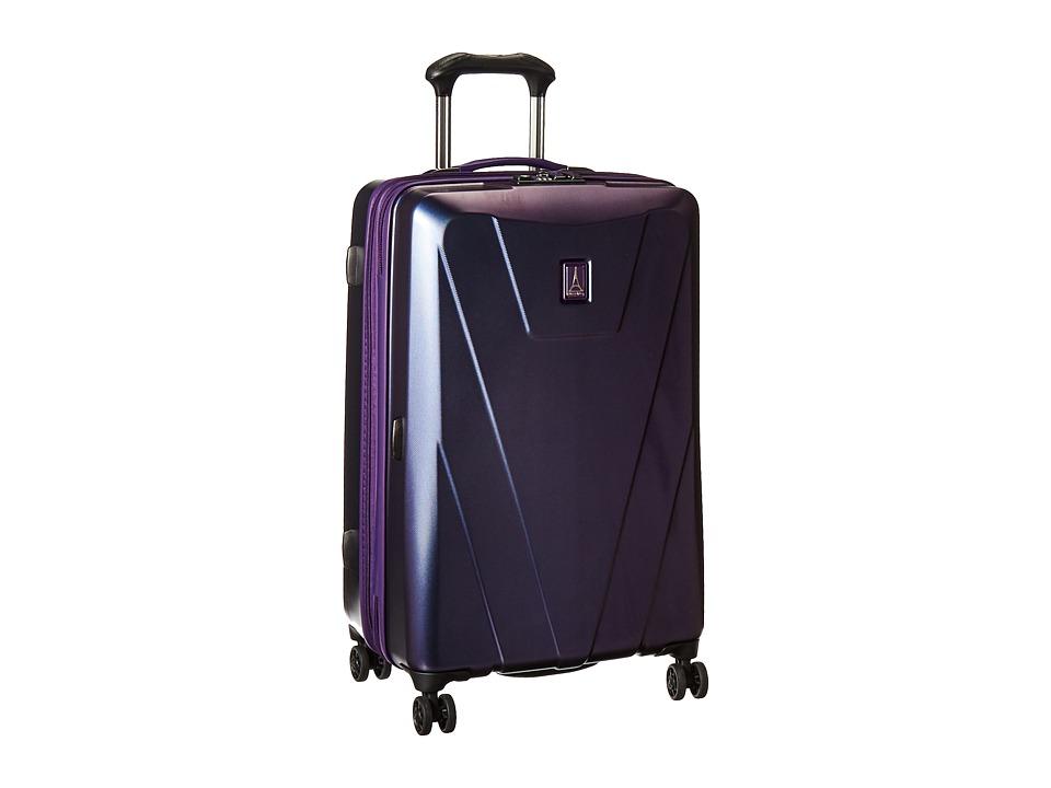 Travelpro Maxlite 4 Hardside 25 Expandable Spinner (Dark Purple) Luggage