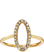 Rebecca Minkoff - 0 Shaped Pave Ring