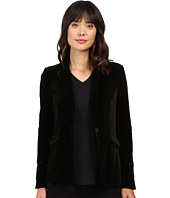 Blank NYC - Velvet Black Blazer in The New Black