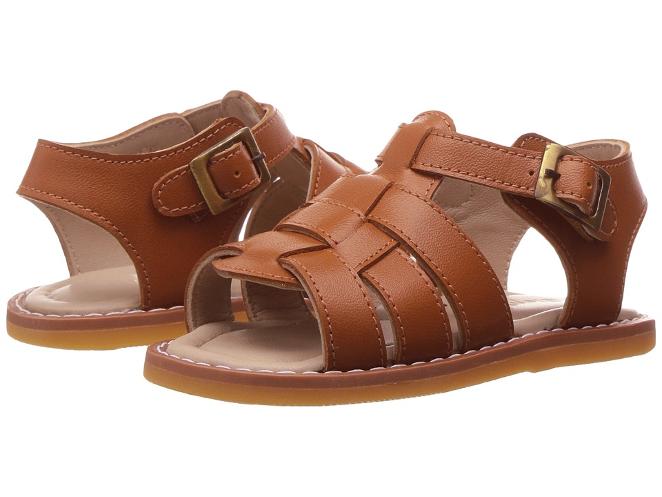 Elephantito - Fisherman Sandal (Infant/Toddler) (Caramel) Boys Shoes