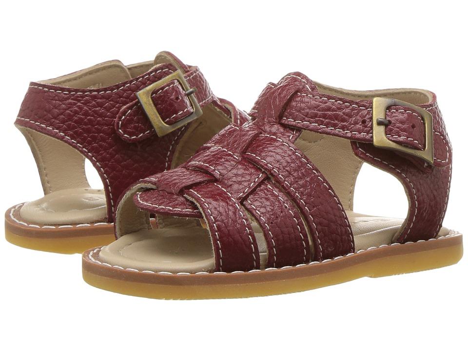 Elephantito Fisherman Sandal (Infant/Toddler) (Racing Red) Boys Shoes