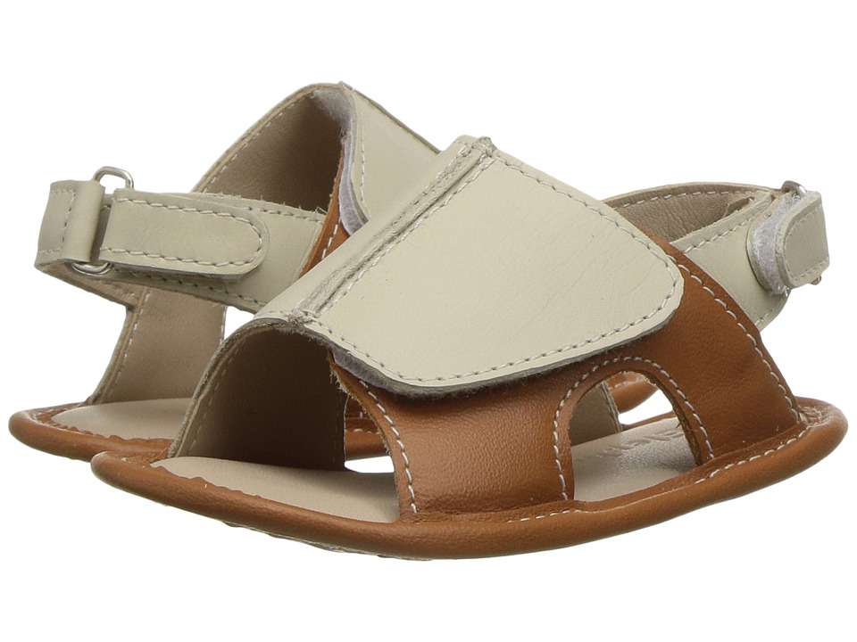 Elephantito - Toby Sandal (Infant/Toddler) (Natural) Boys Shoes