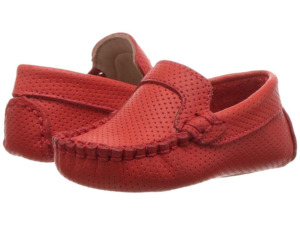 Elephantito Moccasin (Infant) (Ferrari Red) Boy's Shoes