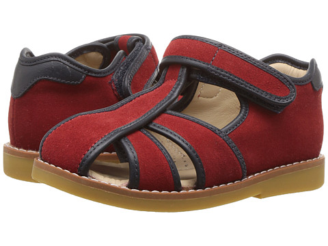Elephantito Rocky Sandal (Toddler/Little Kid) - Red