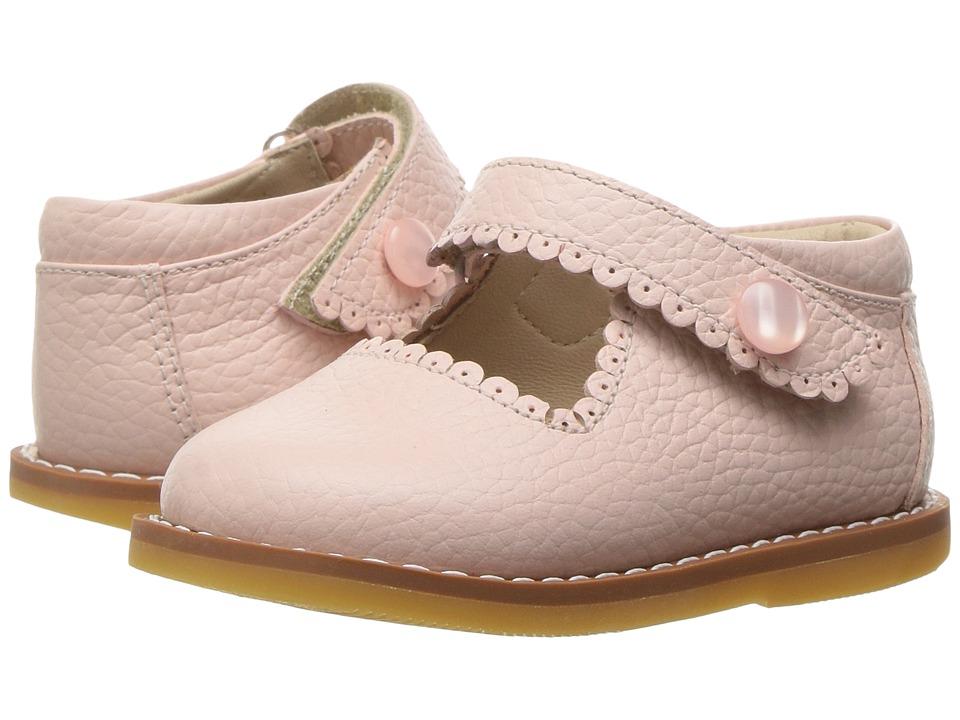 Elephantito Mary Jane (Toddler) (Textured Pink) Girls Shoes