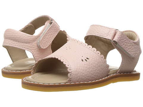 Elephantito Classic Sandal w/ Scallop (Toddler/Little Kid) - Textured Pink