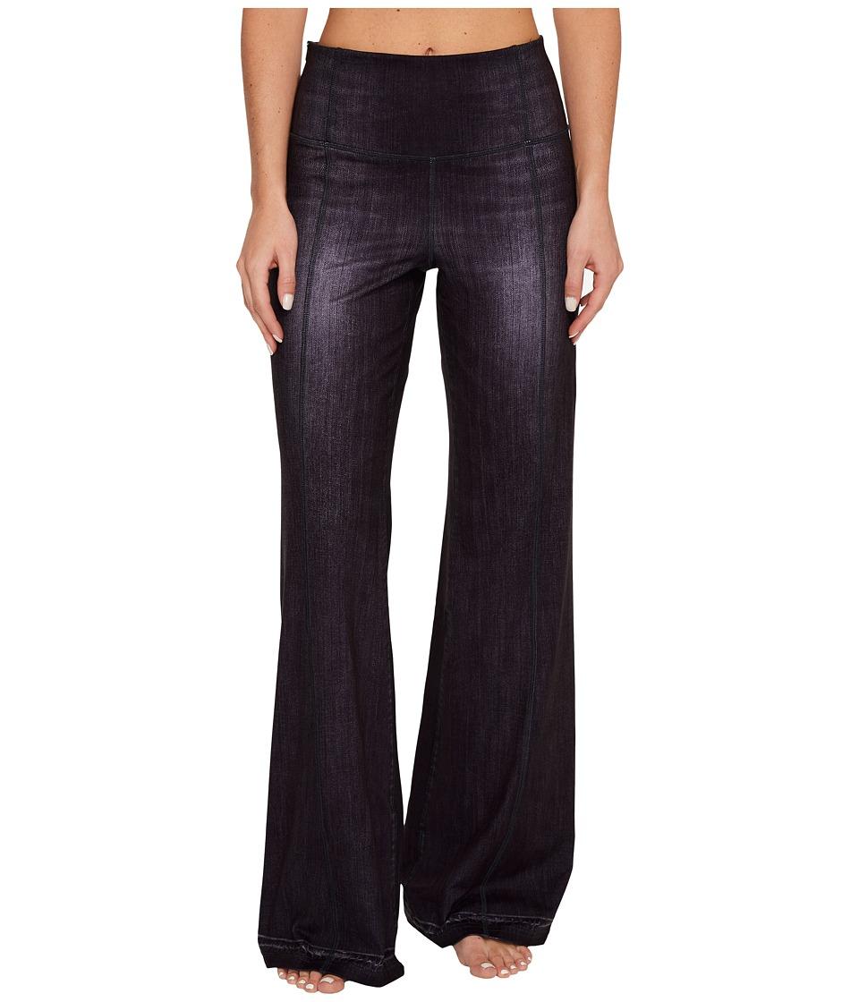 Lucy Indigo Flare Pants (Black Indigo) Women