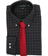 LAUREN Ralph Lauren - Poplin Checks Classic Pocket Dress Shirt