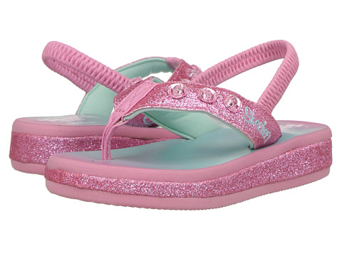 SKECHERS KIDS Twinkle Toes - Sunshines 10752N Lights (Toddler) - Pink/Multi