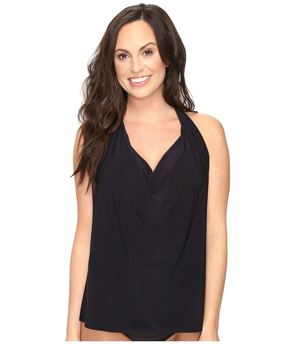 Magicsuit Solids Sophie Top (DD Cup) (Black) Women