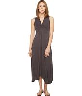 Mod-o-doc - Rayon Spandex Slub Jersey Twist Front Tank Dress