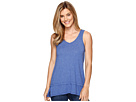 Heather Jersey Banded Tank Top