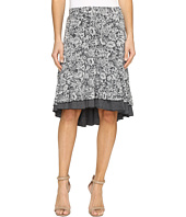 Mod-o-doc - Wildflower Burnout Double Layer Skirt