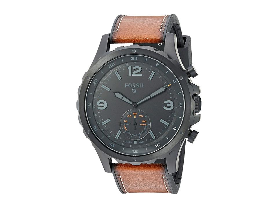 Fossil Q - Q Nate Hybrid Smartwatch - FTW1114 (Black IP/T...