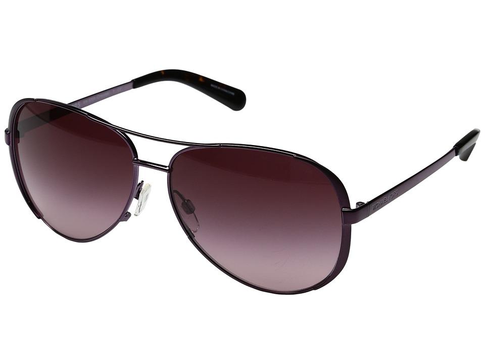 Michael Kors - Chelsea (Plum/Burgundy Gradient) Fashion Sunglasses