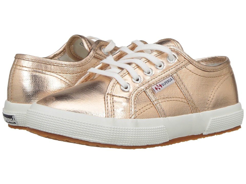 Superga Kids - 2750 Cotmetj (Infant/Toddler/Little Kid/Big Kid) (Rose Gold Cotton) Girls Shoes