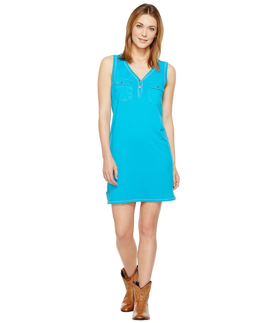 Tasha Polizzi - Icon Dress (Turquoise) Womens Dress