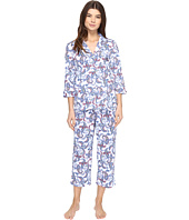 LAUREN Ralph Lauren - 3/4 Sleeve Notch Collar PJ