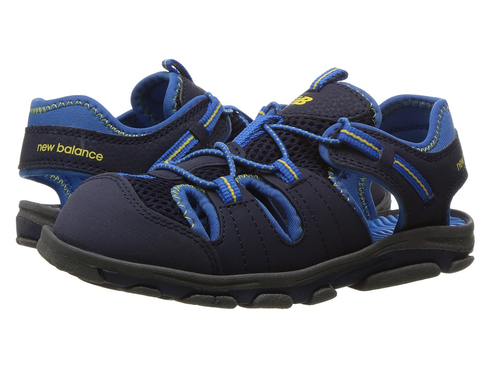 New Balance Kids Adirondack Sandal (Toddler/Little Kid) (Navy/Blue) Boys Shoes