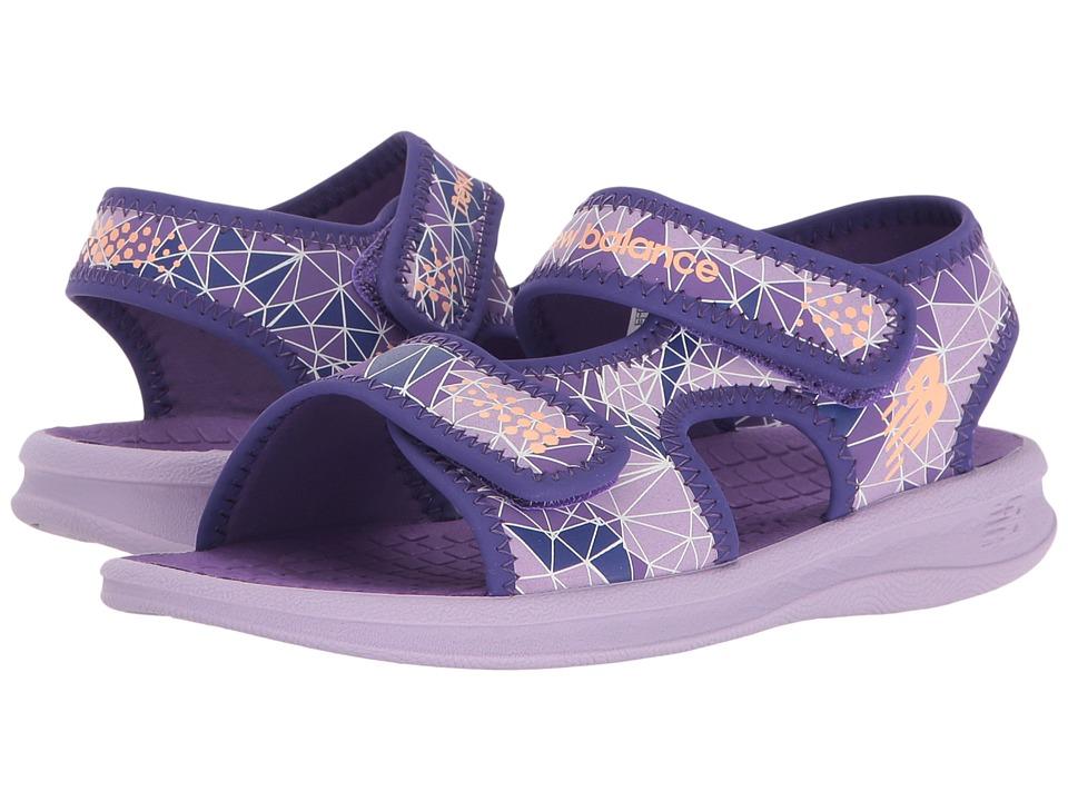 New Balance Kids Sport Sandal (Toddler/Little Kid/Big Kid) (Purple) Girls Shoes