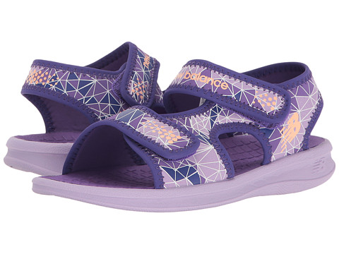 New Balance Kids Sport Sandal (Toddler/Little Kid/Big Kid) - Purple
