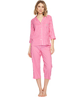 LAUREN Ralph Lauren - Cotton Rayon Lawn 3/4 Sleeve Pajama