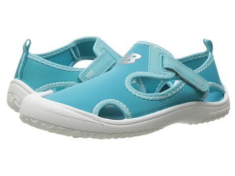 New Balance Kids Cruiser Sandal (Toddler/Little Kid) - White/Coast Blue