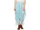 Image of Tasha Polizzi - Handkerchief Skirt (Blue) Women's Skirt