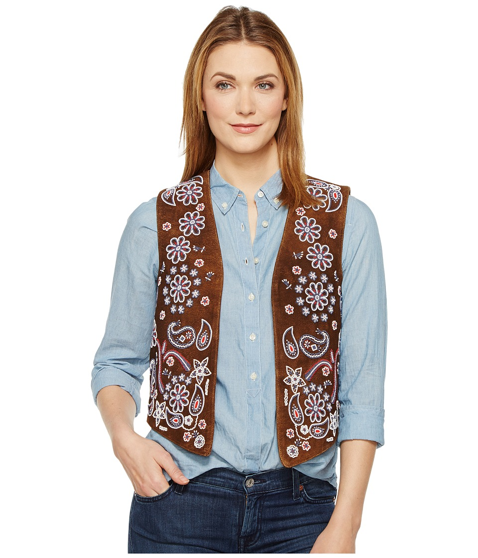 Tasha Polizzi - Country Girl Vest (Brown) Women's Vest