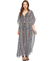 Tommy Bahama - Geo Relief Ankle Length Tunic Cover-Up