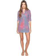 Tommy Bahama - Geo Boyfriend Shirt Cover-Up