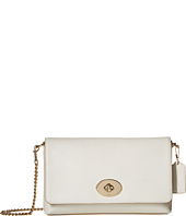COACH - Smooth Calf Leather Crosstown Chain Crossbody