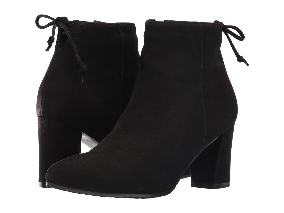 Blondo - Tiana Waterproof Bootie (Black Suede) Womens  Boots