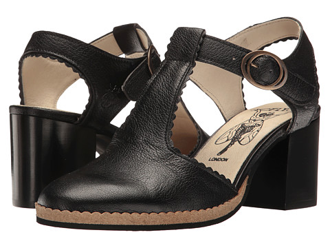 FLY LONDON Cade04Fly - Black Mousse