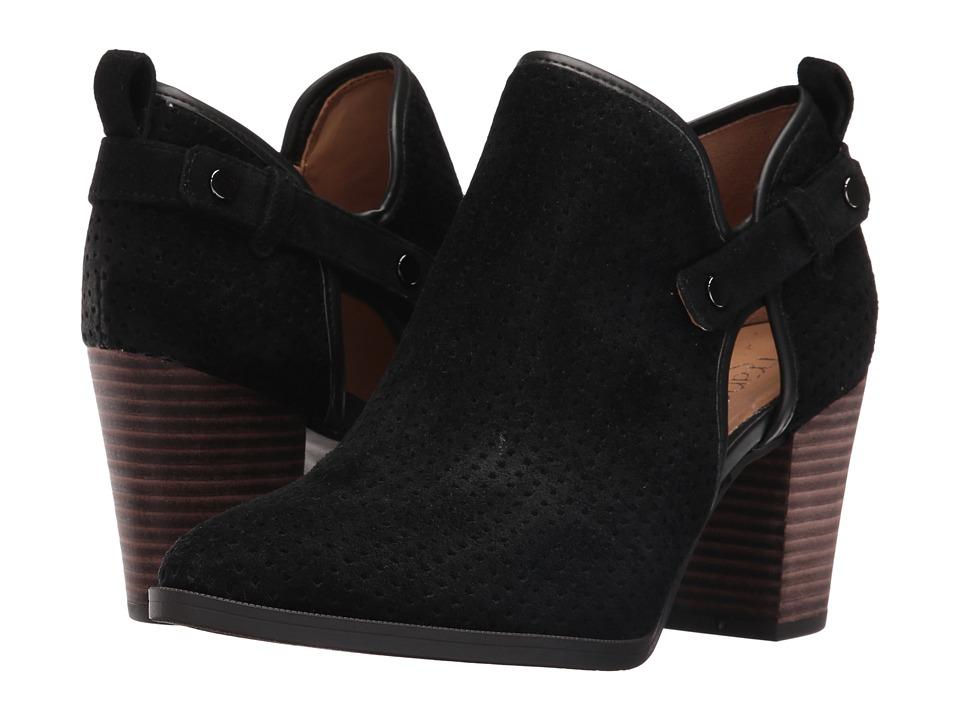 Franco Sarto Dakota (Black Suede) Women's Shoes